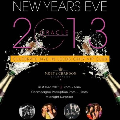 Oracle's New Year's Eve Party Tickets | Oracle Leeds  | Tue 31st December 2013 Lineup