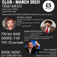The South London Comedy Club March Madness