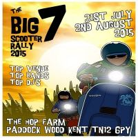 The Big 7 Scooter Rally 2015